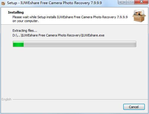 IUWEshare Free Camera Photo Recovery