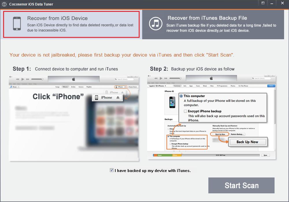 Cocosenor iOS Data Tuner
