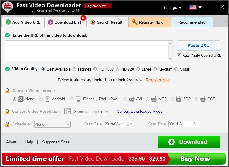 Fast Video Downloader截图