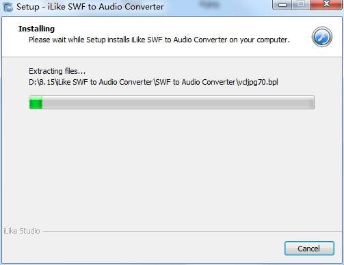 iLike SWF to Audio Converter截图