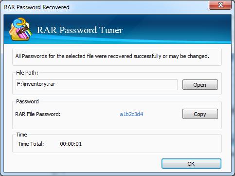 Cocosenor RAR Password Tuner截图