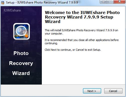 IUWEshare Photo Recovery Wizard