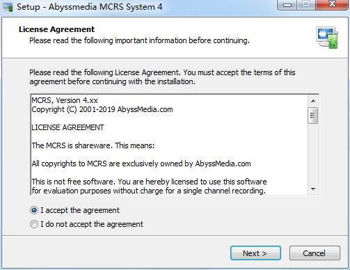 Abyssmedia MCRS System截图