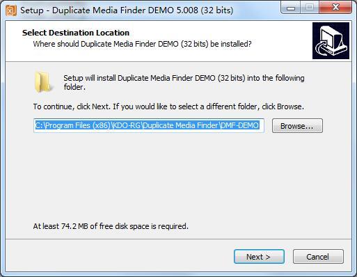 Duplicate Media Finder截图