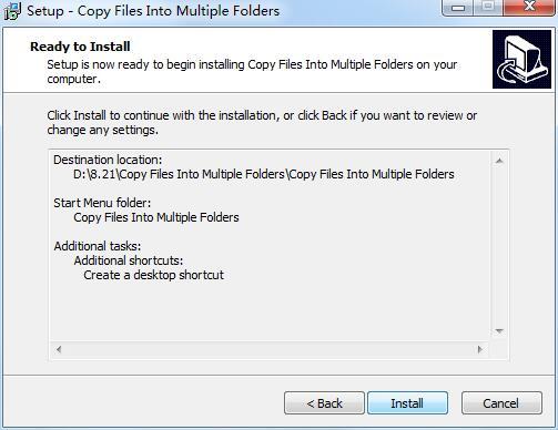 Copy Files Into Multiple Folders