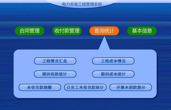 电力安装工程管理系统截图