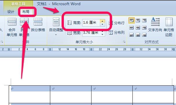 Microsoft Word 2010截图