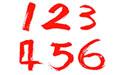阿拉伯数字字体