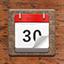 2014年日历表格