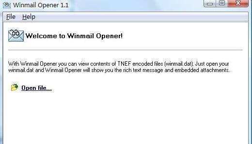 Winmail Opener截图