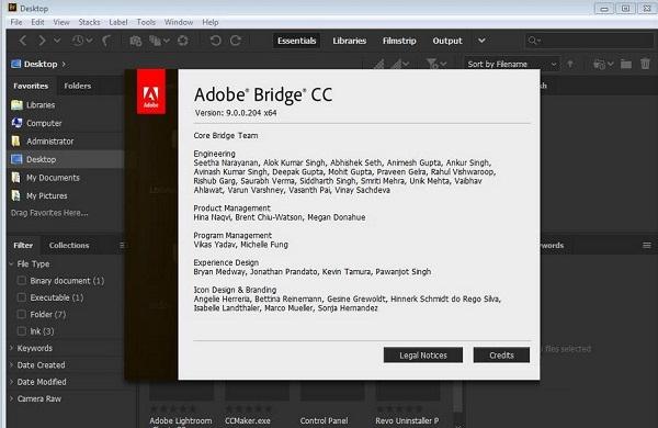 Adobe Bridge CC 2019截图