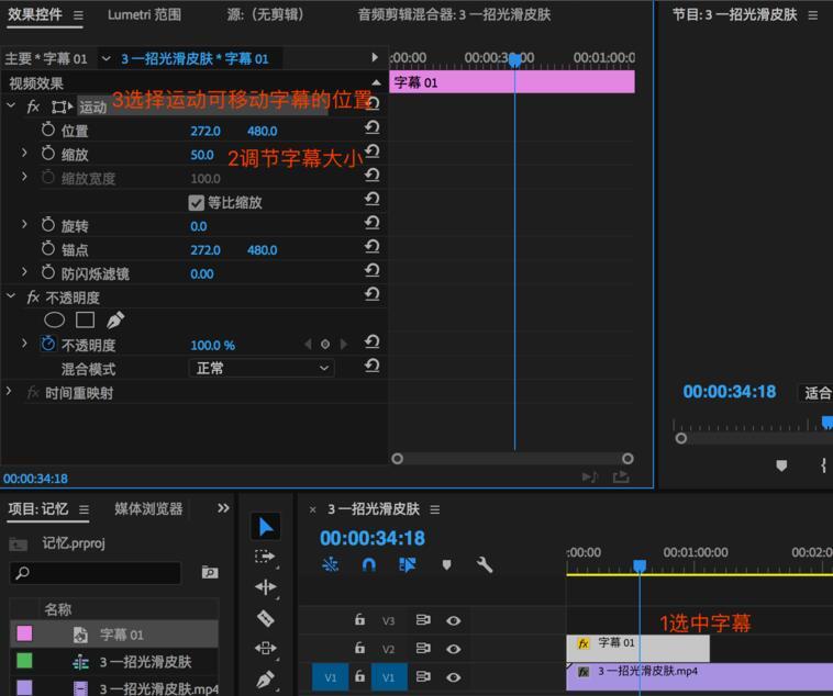 Adobe premiere pro CC2018截图