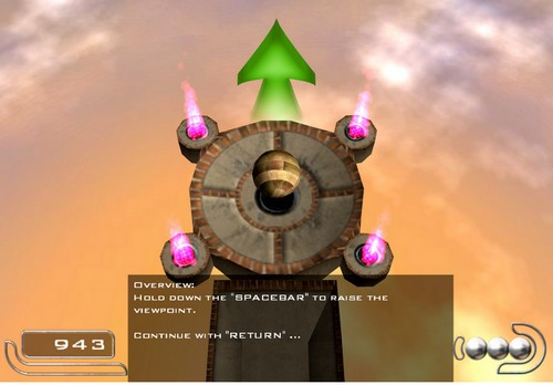 3D平衡球截图