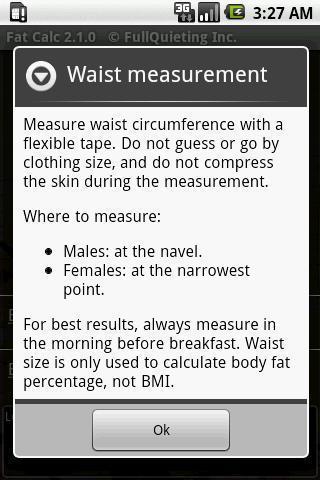 體脂肪率計算器