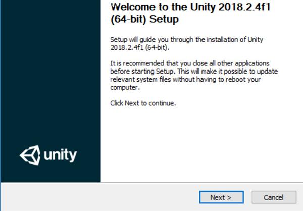 Unity3D 2018
