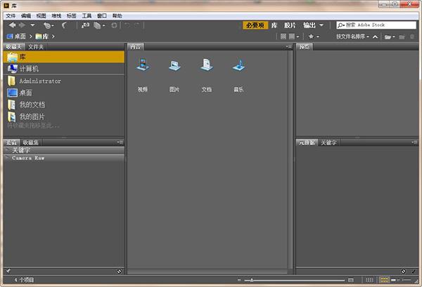 Adobe Bridge CC 2020截图