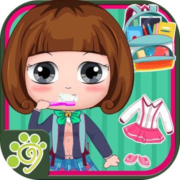 贝贝公主去上学