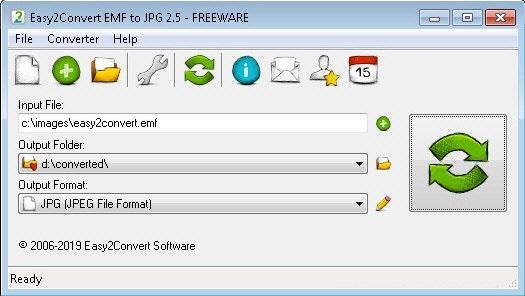 Easy2Convert EMF to JPG截图
