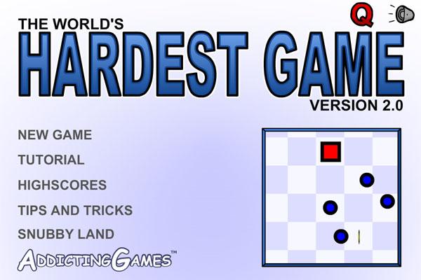 世界上最难的游戏截图