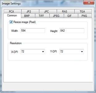 Mgosoft XPS To Image Converter截图