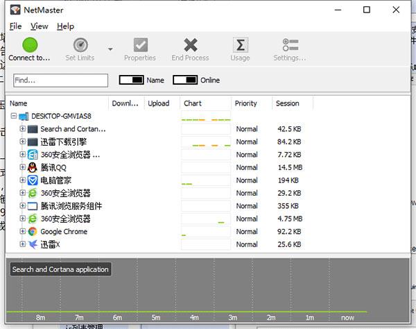 SoftPerfect NetMaster截图1