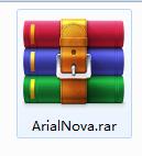 Arial Nova字体截图