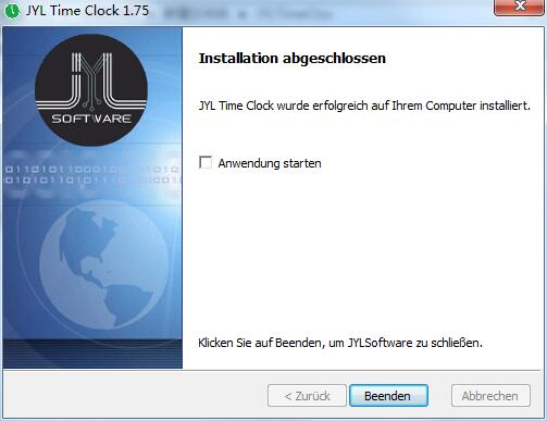 JYL TimeClock截图