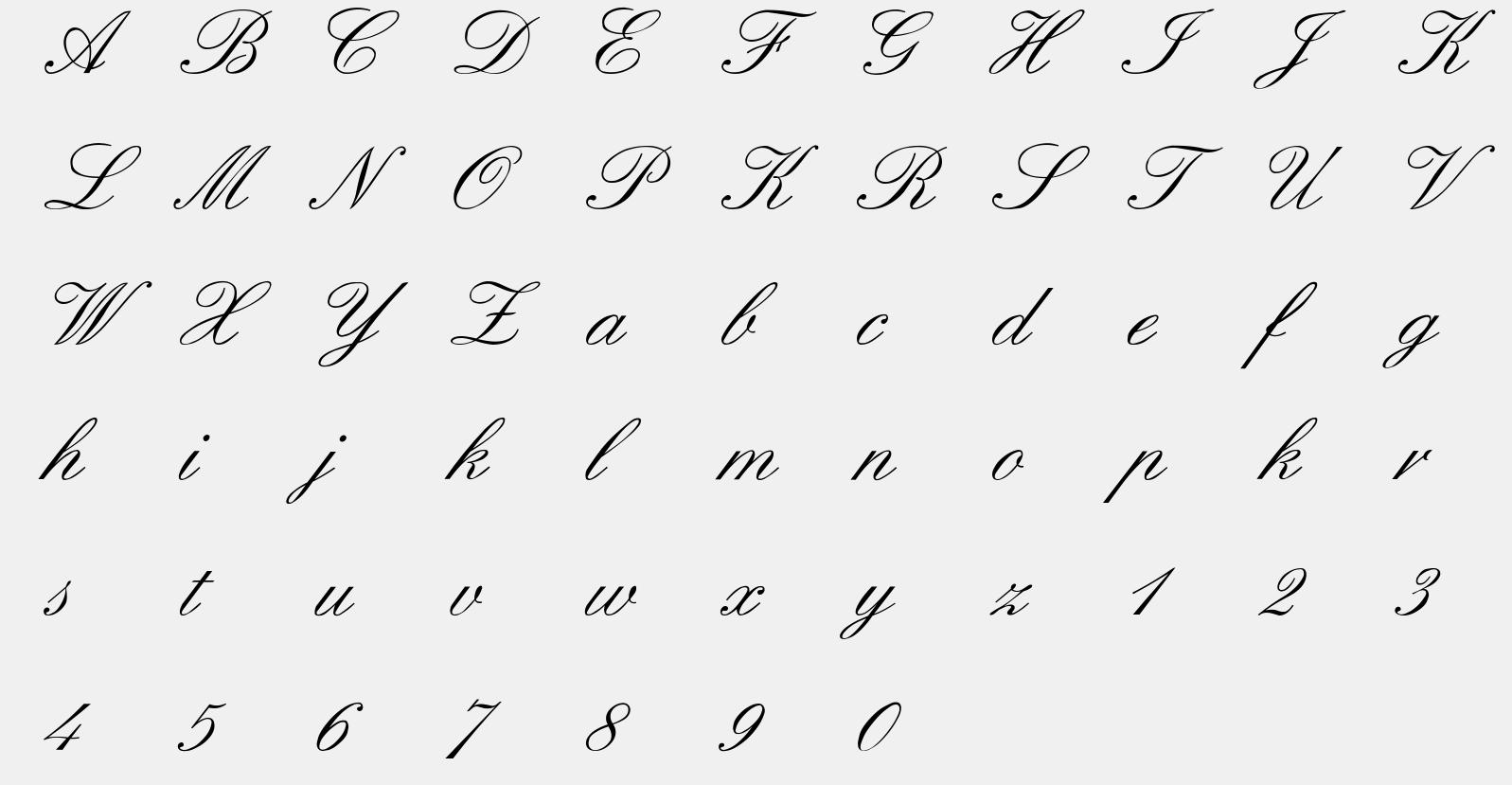 Formal script字体下载,