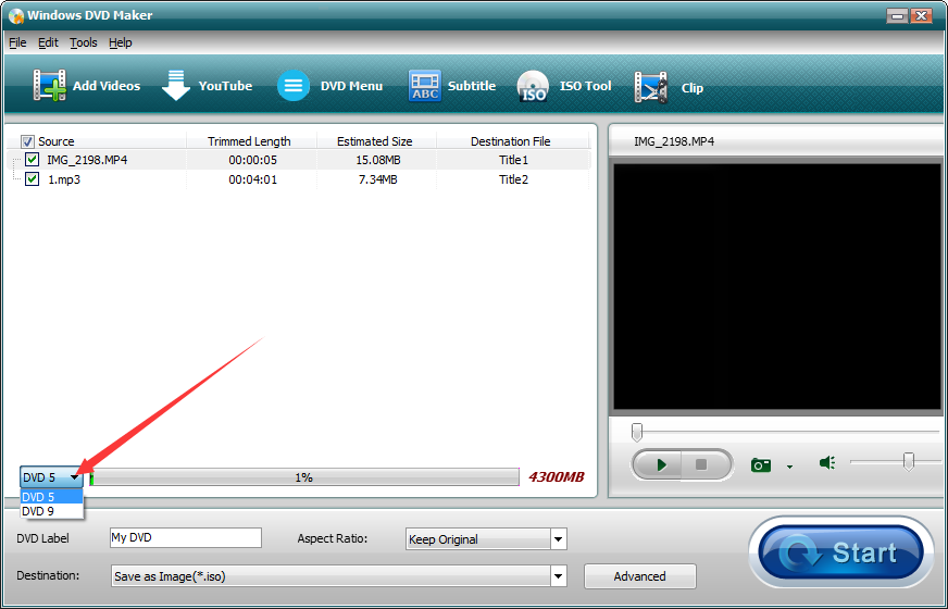 Windows DVD Maker截图