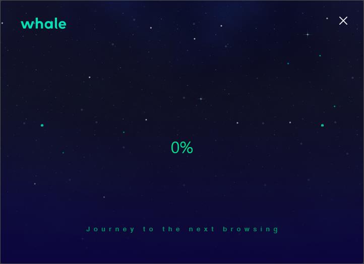 Whale浏览器截图