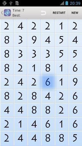 数字连连看
