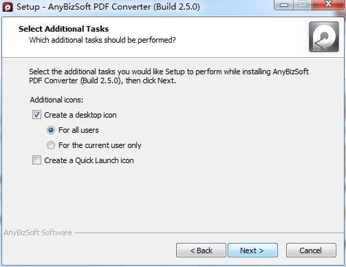 AnyBizSoft PDF Converter截图
