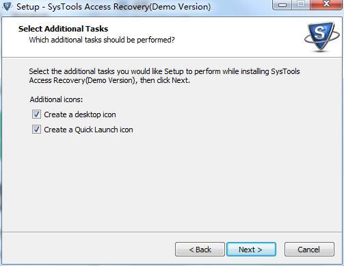 SysTools Access recovery截图
