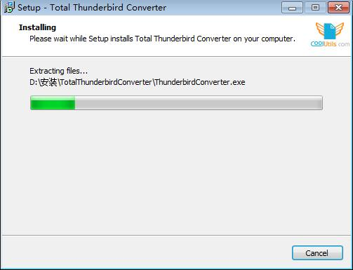 Total Thunderbird Converter截图