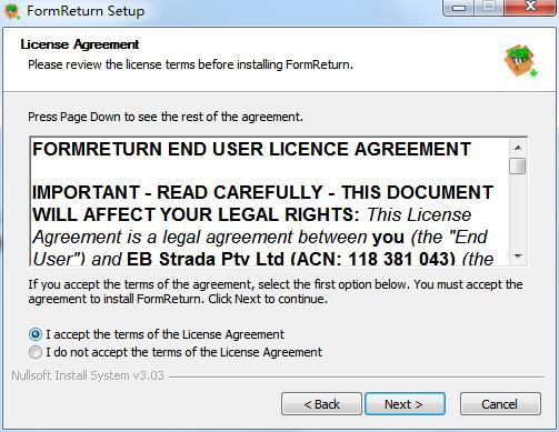 FormReturn截图
