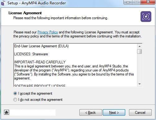 AnyMP4 Audio Recorder截图