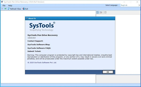 SysTools Pen Drive Recovery
