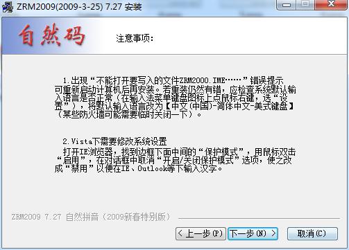 自然码输入系统2000截图