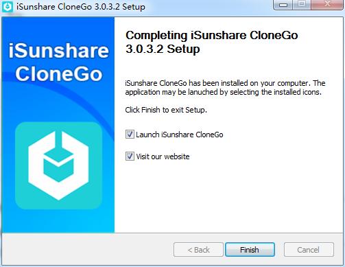 iSunshare CloneGo截图