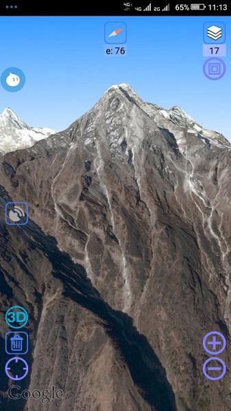 奥维互动地图浏览器安卓客户端截图