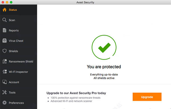 Avast Security for mac截图