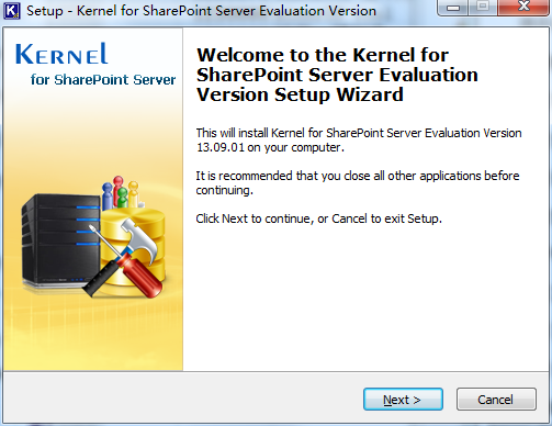 Kernel for SharePoint Server Recovery