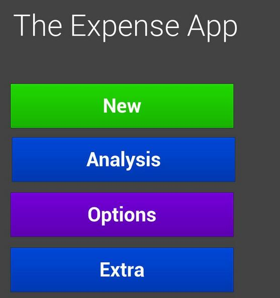 Expense Calculator截图