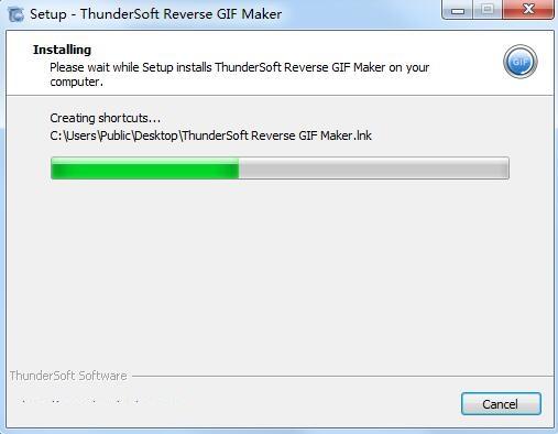 ThunderSoft Reverse GIF Maker截图