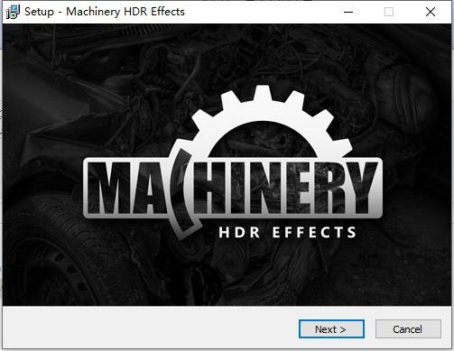 Machinery HDR Effects截图