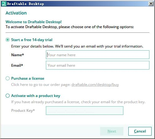 Draftable Desktop