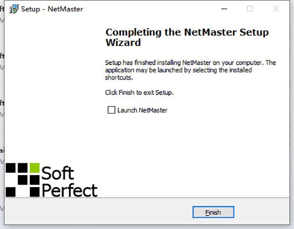 SoftPerfect NetMaster截图