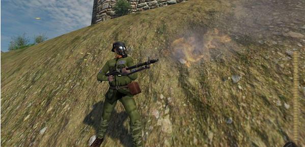 骑马与砍杀二战中国战场截图