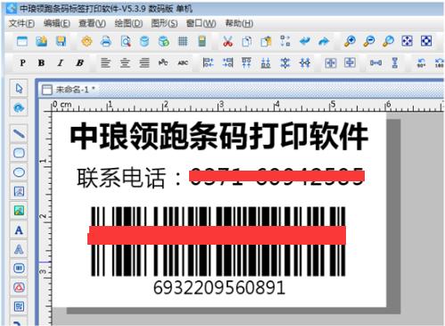 中琅条码标签打印软件简体中文版