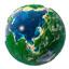 大地球快递单打印系统LOGO